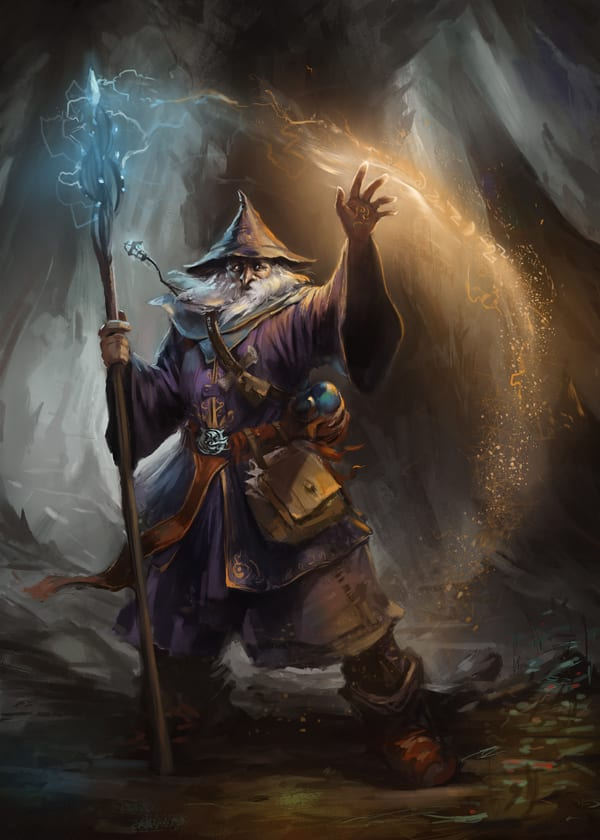 Sample DnD5e Characters - 6th Level Evocation Wizard - Gaming Ballistic