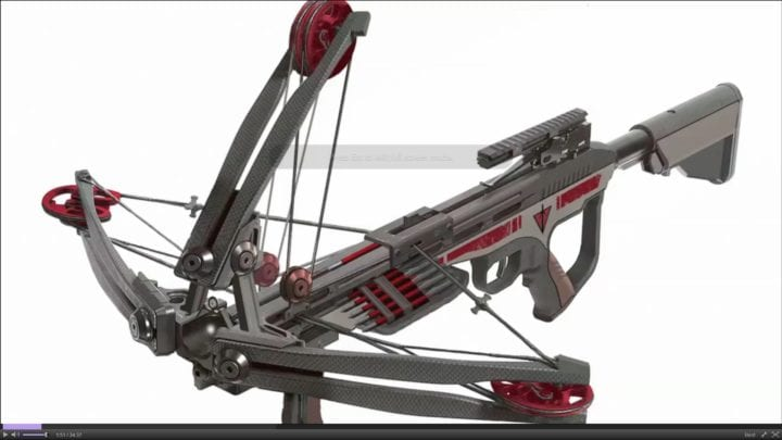 Pump action crossbow