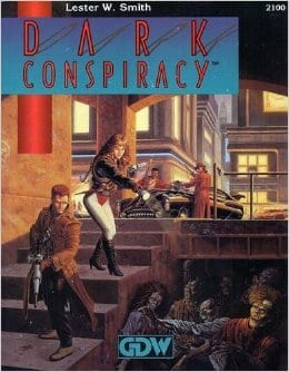 Sunday Review: Dark Conspiracy (GDW 1991)