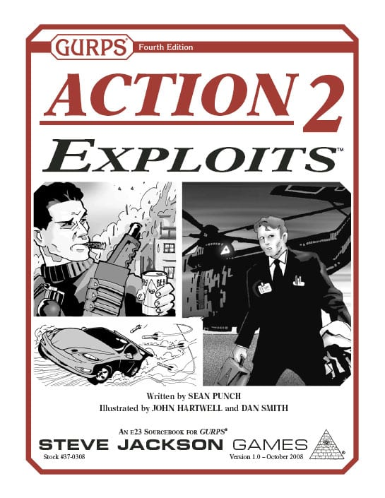 Sunday Review: GURPS Action 2: Exploits