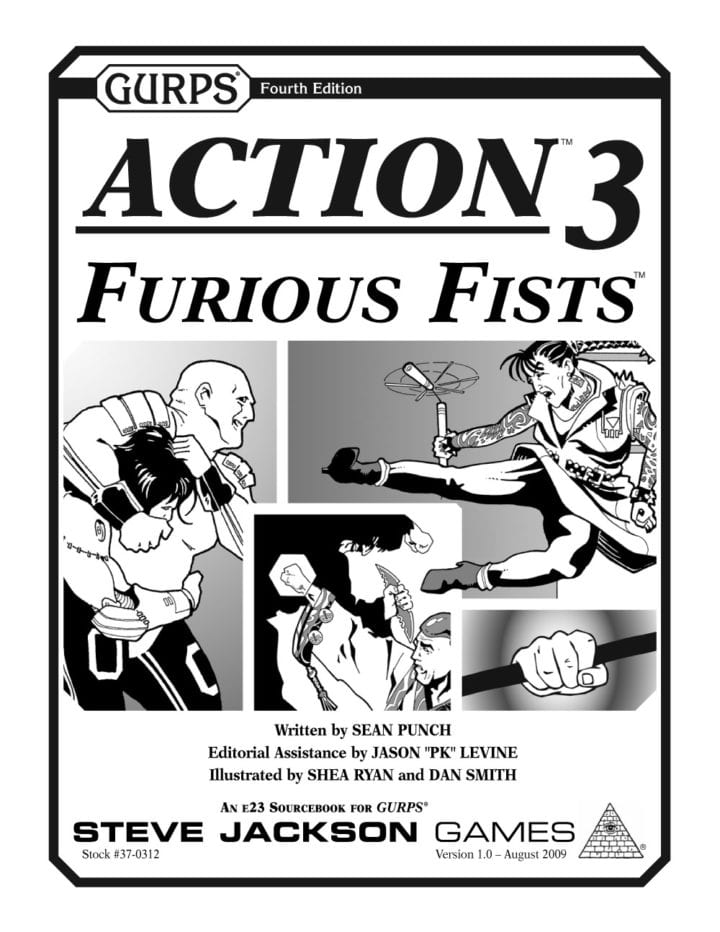 Sunday Review: GURPS Action 3 – Furious Fists