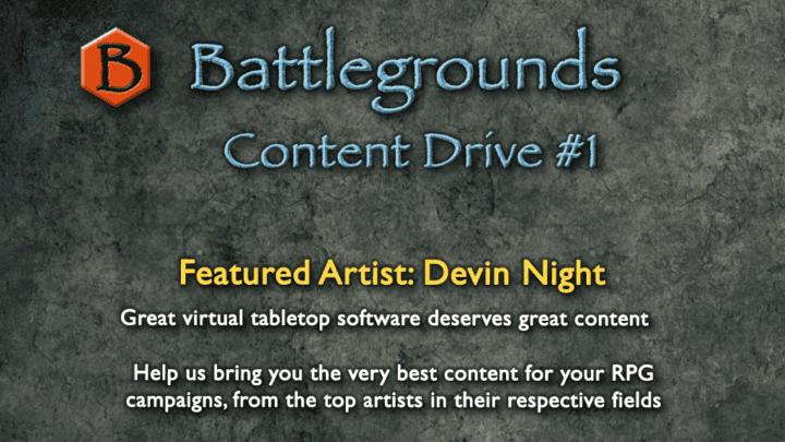 Battlegrounds – Virtual Tabletop Kickstarter