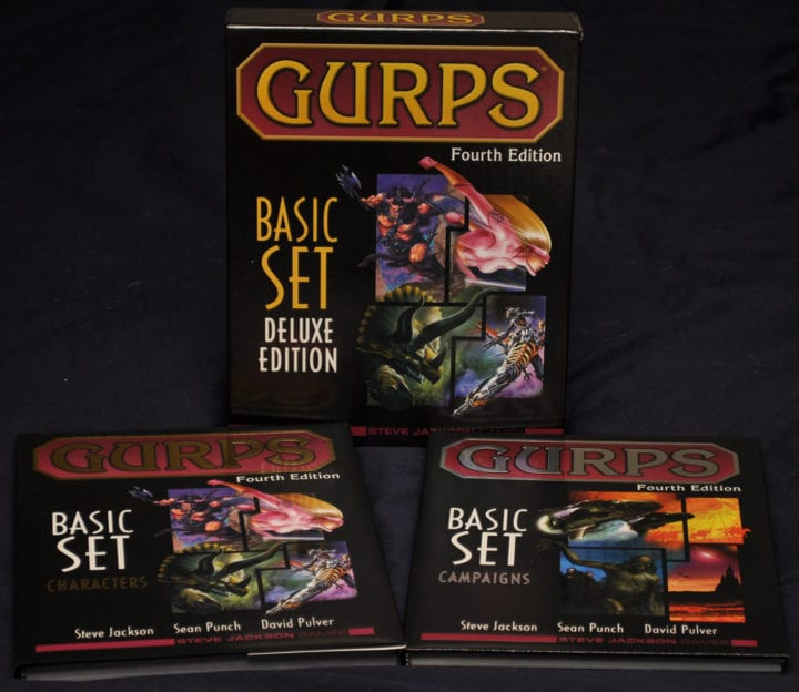 GURPS Day Summary Dec 30 – Jan 5, 2017