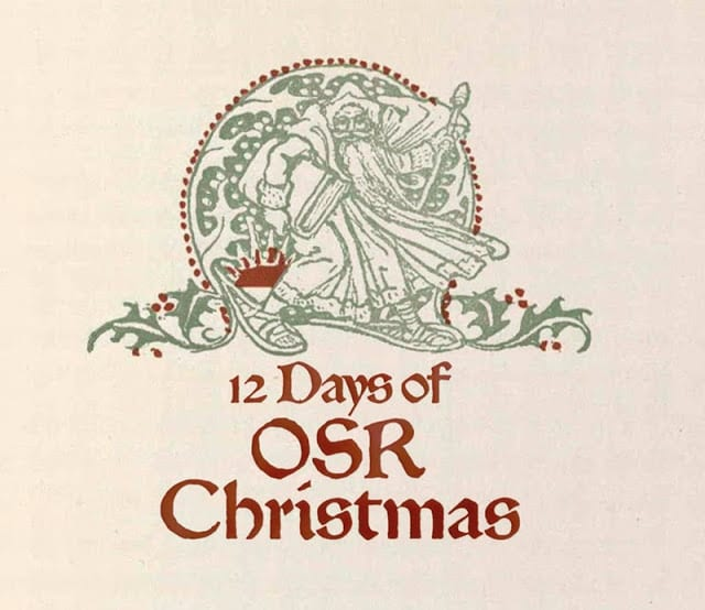 Wrapping up the OSR Christmas: Day 11 and Xmas Winners