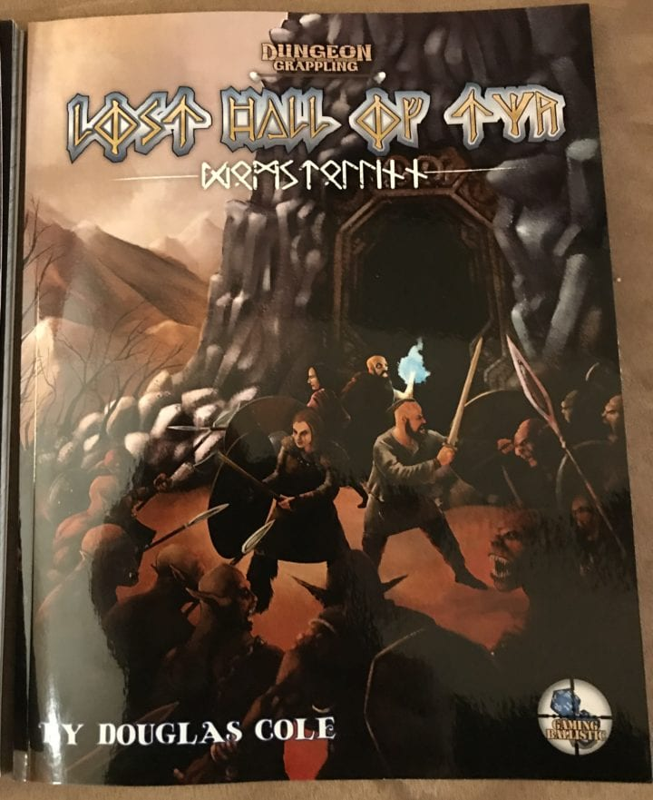 Lost Hall of Tyr: Physical and PDF now available