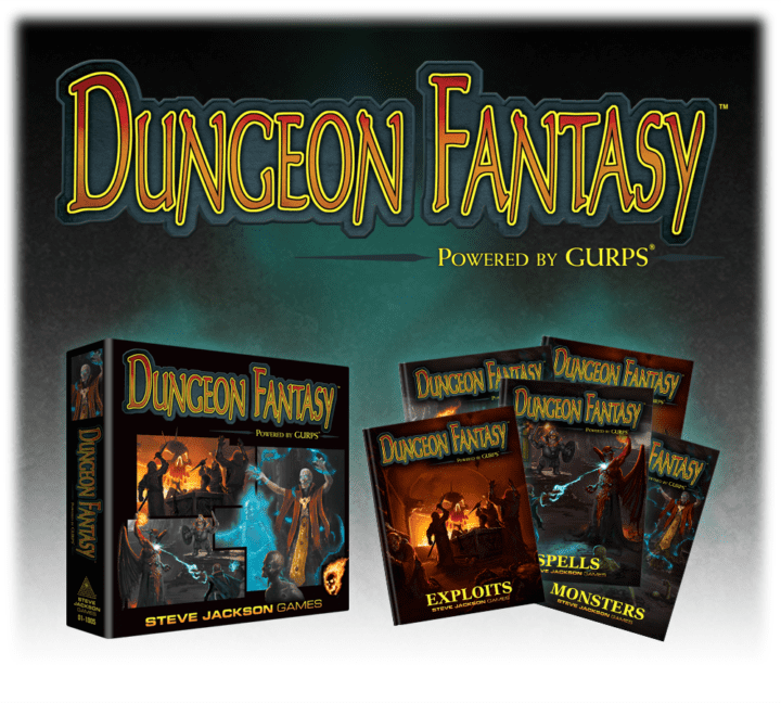 The Dungeon Fantasy RPG, Powered by GURPS