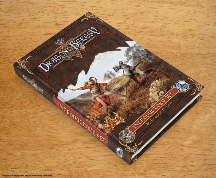 Dragon Heresy: ToC and Index Preview
