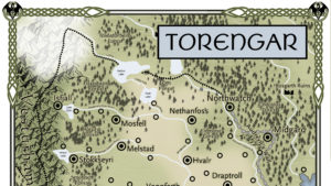 Northern Torengar is the site for both Citadel of Northwatch and The Hunted Lands
