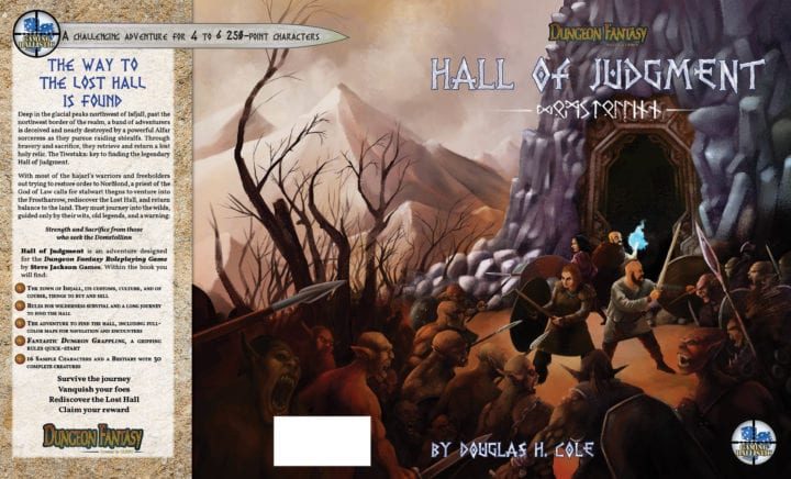 Hall of Judgment has been accepted at pre-press