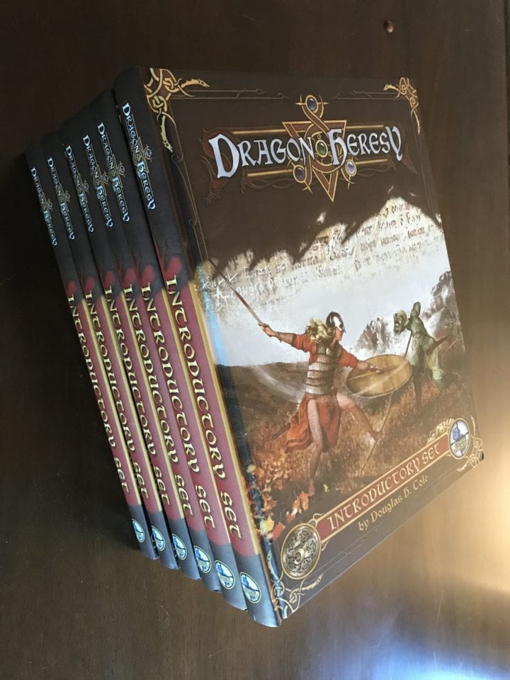 Dragon Heresy Advance Copies Arrive!