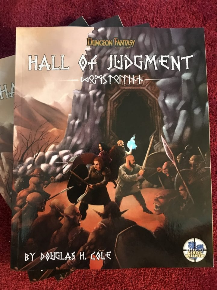 Hall of Judgment: Actual Play report (guest post)