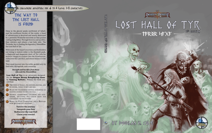 Lost Hall – New Cover WIP