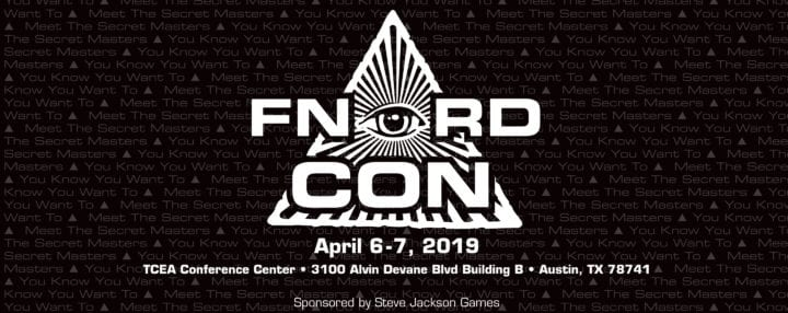 Gaming Ballistic is off to FNORDCon!