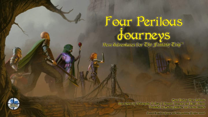 Four Perilous Journeys: New Stretch Goals, $14,000 in hand!