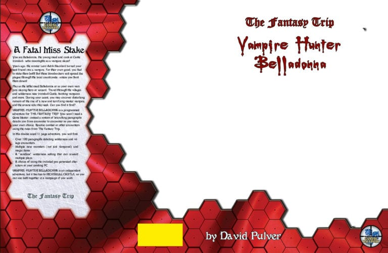 Vampire Hunter Belladonna Cover Template; Art to be added later!