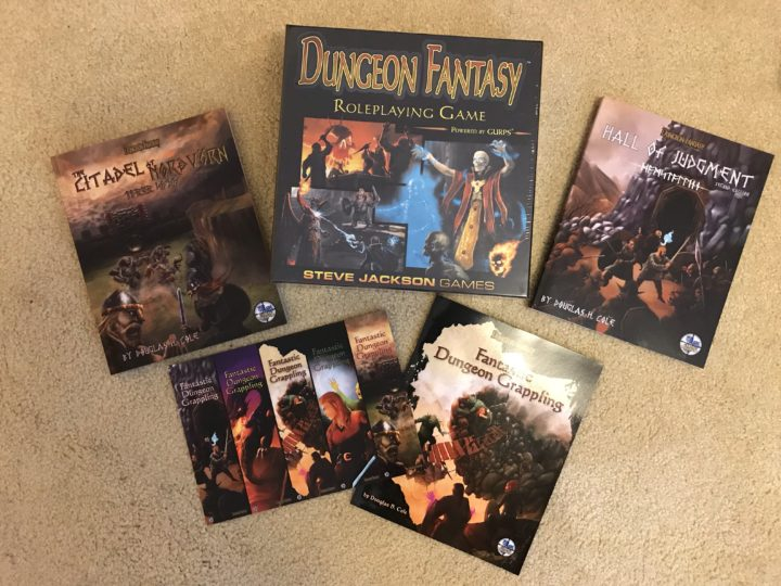 September: A GREAT Month for the Dungeon Fantasy RPG