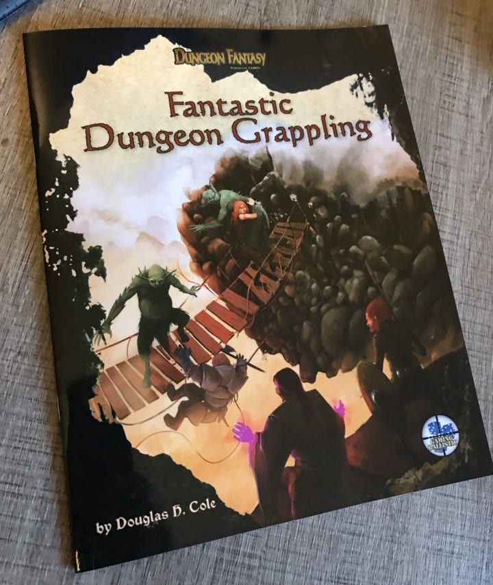 DFRPG Fantastic Dungeon Grappling print proof arrives!