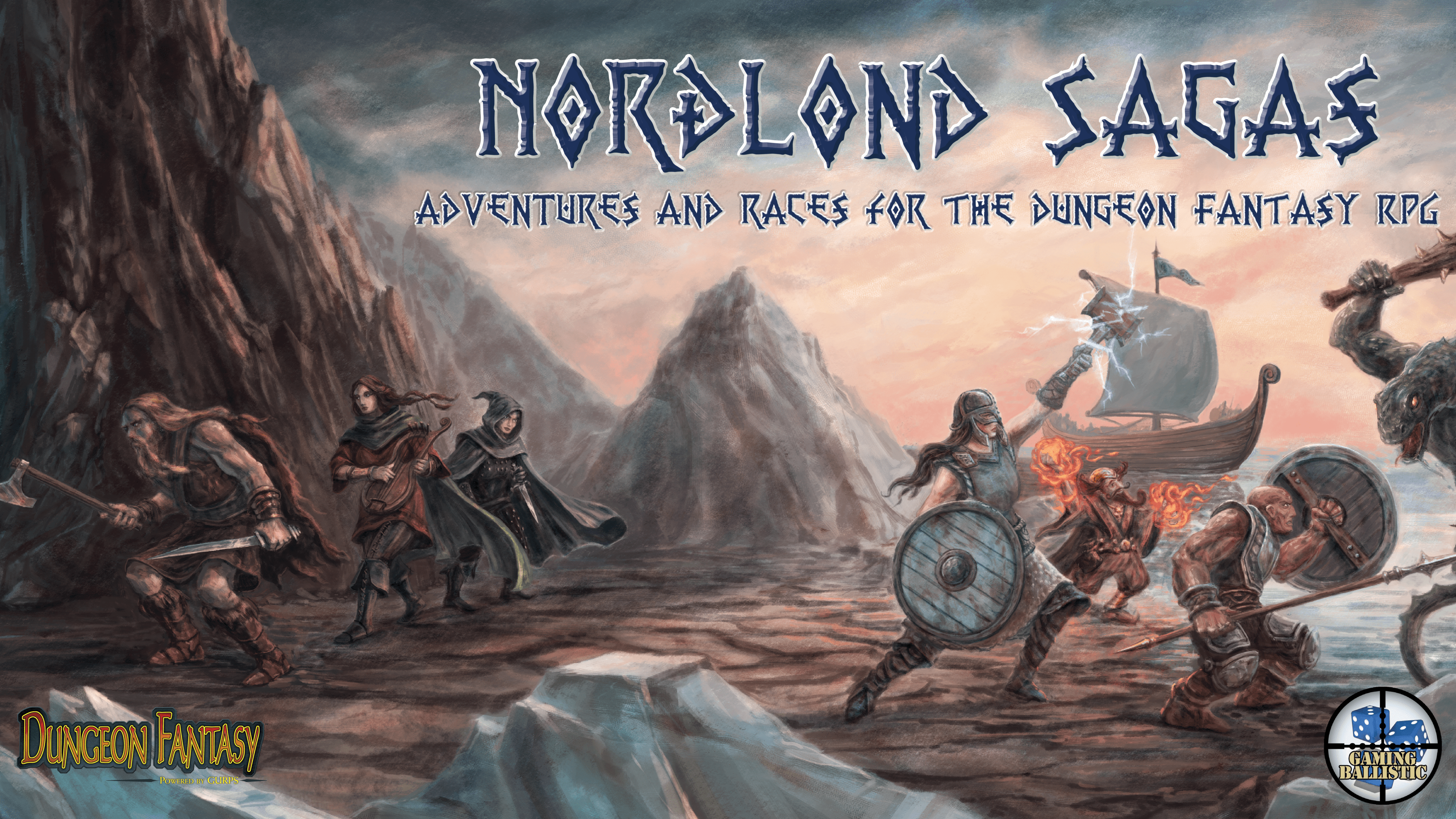 Nordlond Sagas - Coming Sept 10 to Kickstarter!
