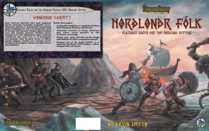 Norðlond Sagas Update: Layout, Art, Maps, and more