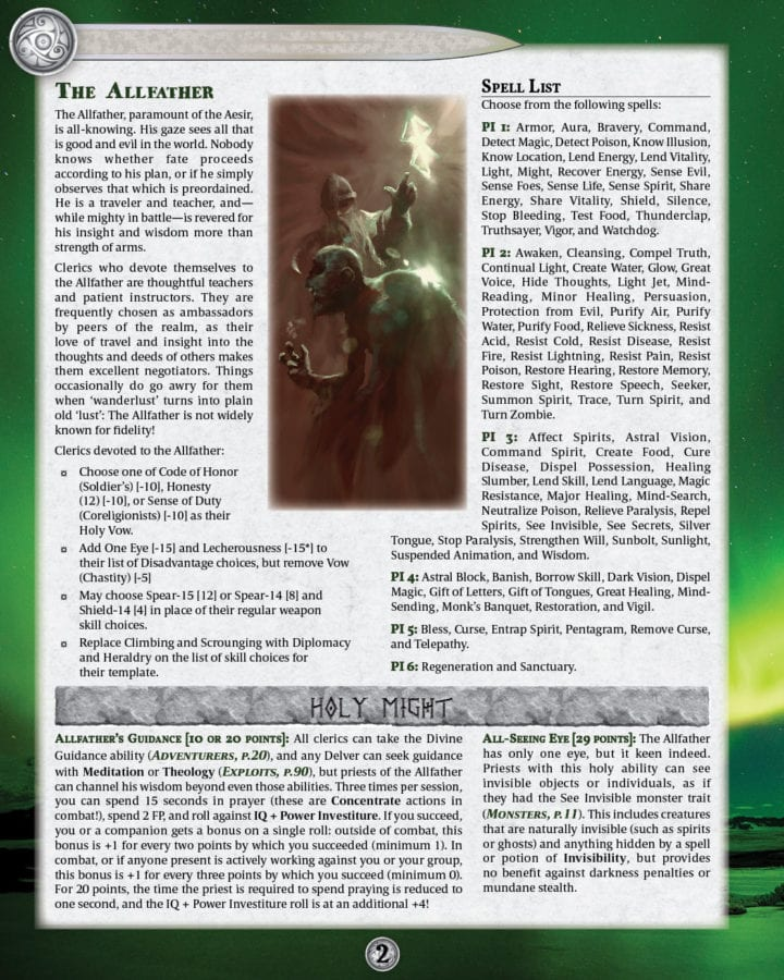Nordlond Sagas: One More Day, New Hand of Asgard preview