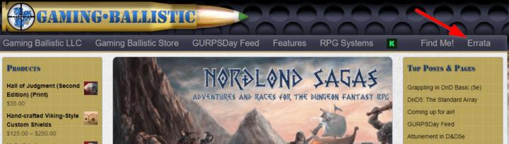 Last Call for Errata on ALL FOUR BOOKS of the Nordlond Sagas Kickstarter