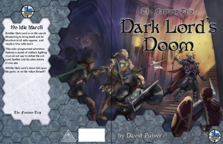 Ksenia Strikes Again: Dark Lord's Doom cover WIP