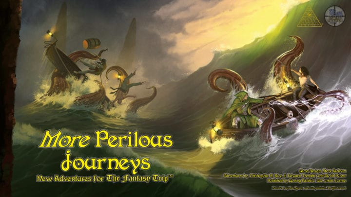 More Perilous Journeys: Backerkit late next week